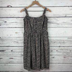 Torrid Leopard Print Challis Tank Dress